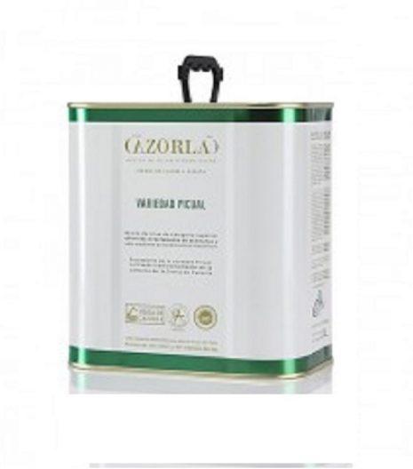 Aceite de Oliva Virgen Extra Cazorla lata 2,5l