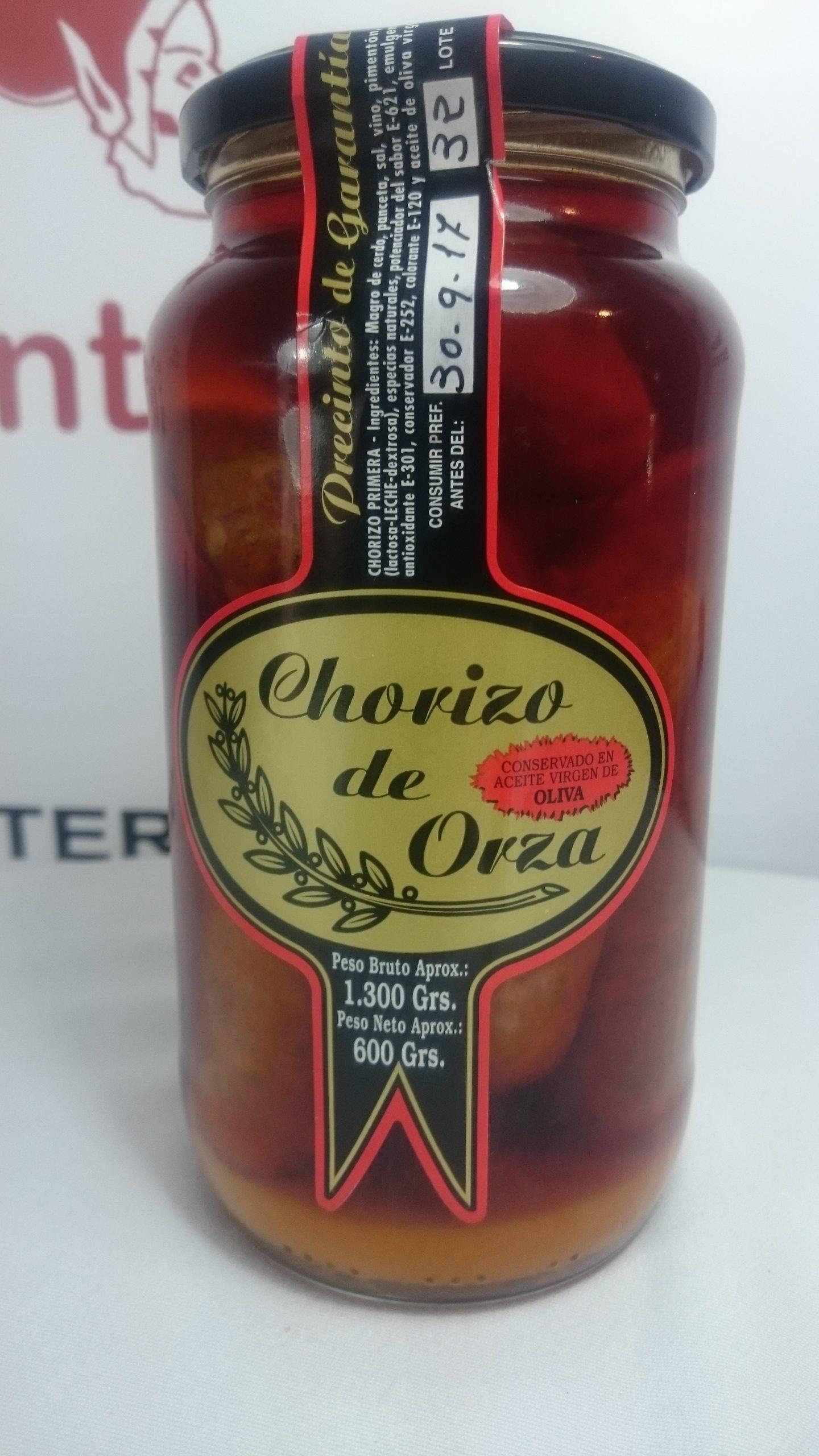 Chorizo de Orza