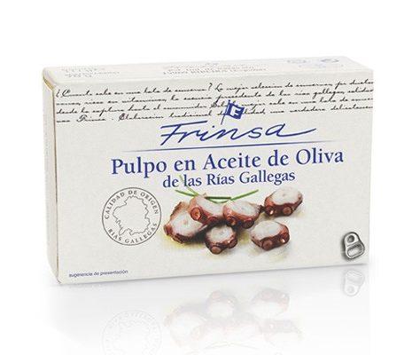 Pulpo en Aceite de Oliva de Las Rias Gallegas
