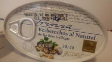berberechos al natural frinsa 20/ 30 Uds.