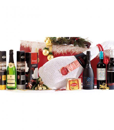 El Cuenta Vinos Murcia Cesta de Navidad 47027