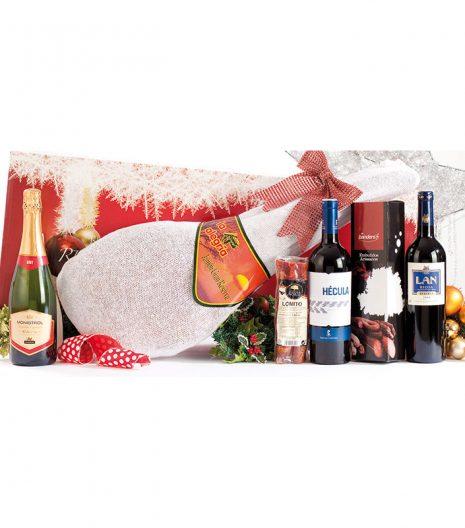 El Cuenta Vinos Murcia Cesta de Navidad 47028