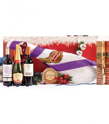 El Cuenta Vinos Murcia Cesta de Navidad 47030