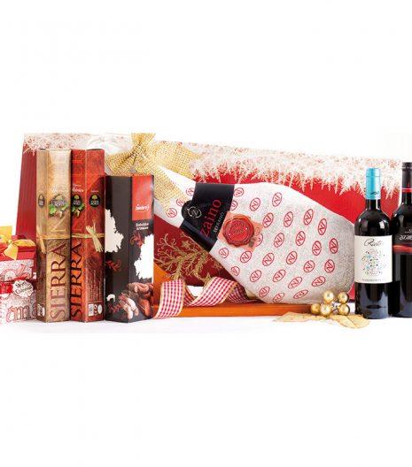 El Cuenta Vinos Murcia Cesta de Navidad 47036