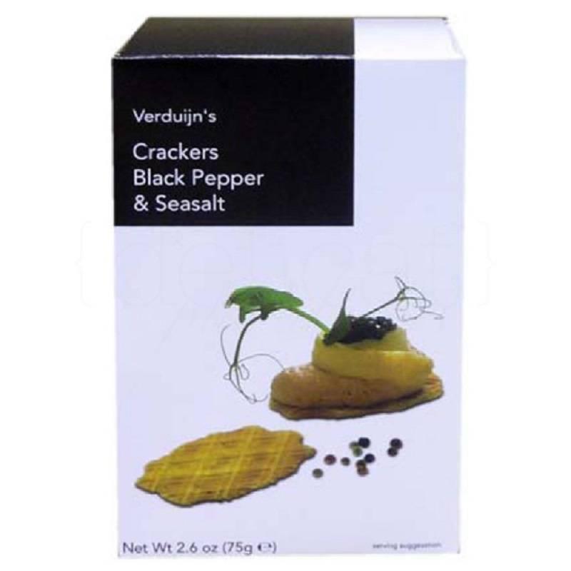 crackers-de-pimienta negra verduijn