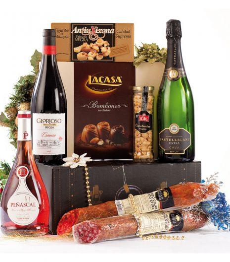 El Cuenta Vinos Murcia Cesta de Navidad 47075