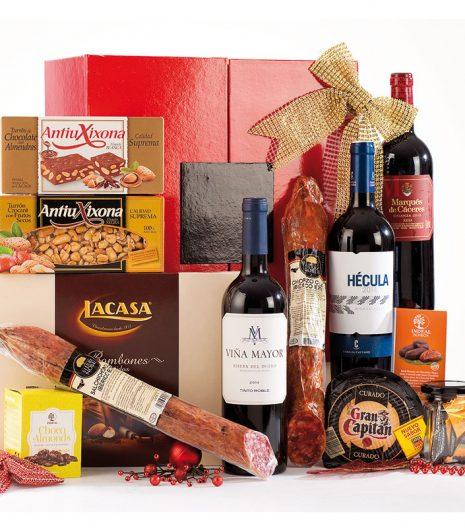 El Cuenta Vinos Murcia Cesta de Navidad 47076