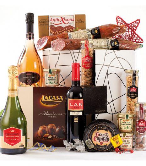 El Cuenta Vinos Murcia Cesta de Navidad 47077