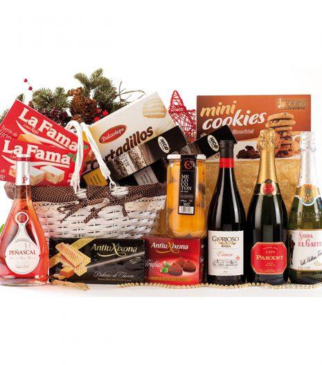 El Cuenta Vinos Murcia Cesta de Navidad 47079
