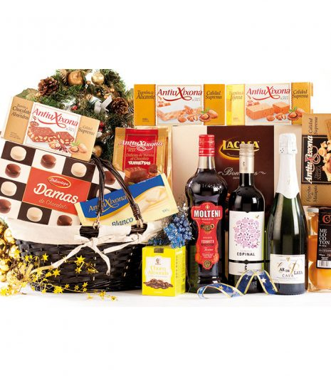 El Cuenta Vinos Murcia Cesta de Navidad 47080