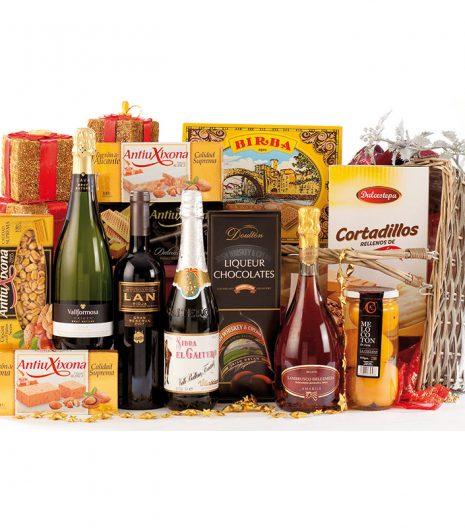 El Cuenta Vinos Murcia Cesta de Navidad 47081