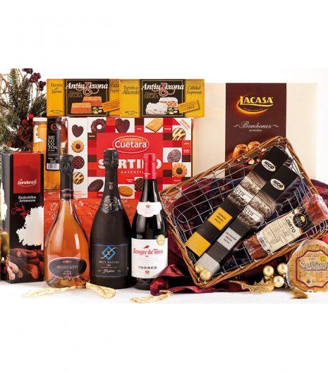 El Cuenta Vinos Murcia Cesta de Navidad 47082