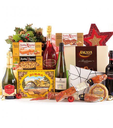 El Cuenta Vinos Murcia Cesta de Navidad 47084