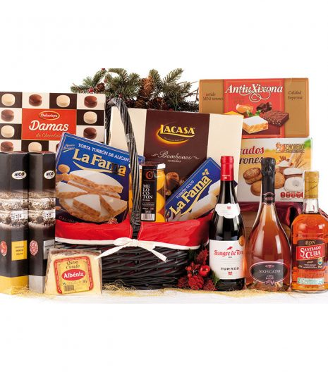 El Cuenta Vinos Murcia Cesta de Navidad 47085