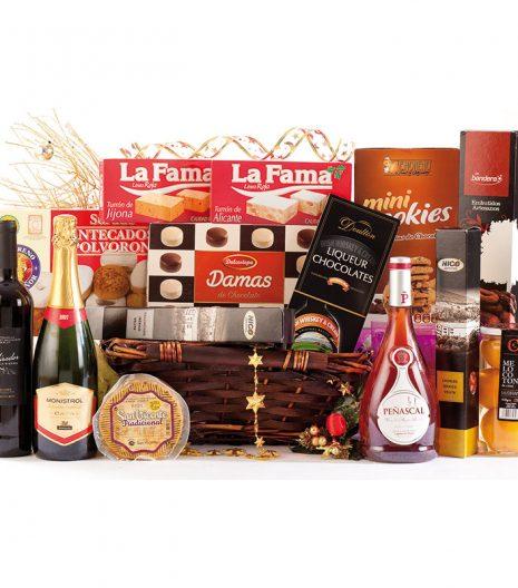 El Cuenta Vinos Murcia Cesta de Navidad 47086