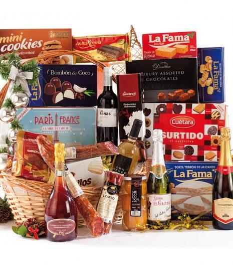 El Cuenta Vinos Murcia Cesta de Navidad 47088