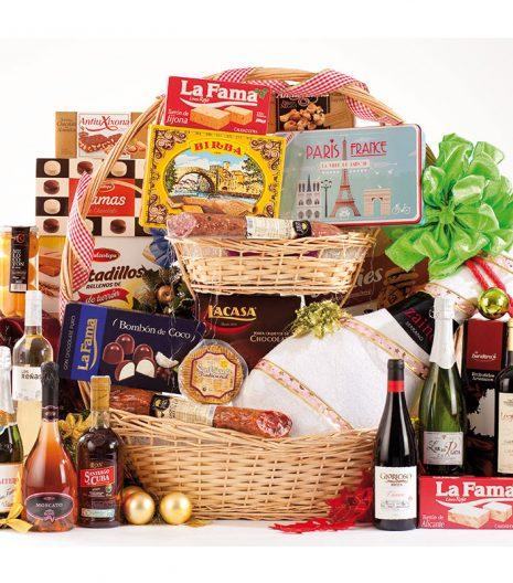 El Cuenta Vinos Murcia Cesta de Navidad 47092