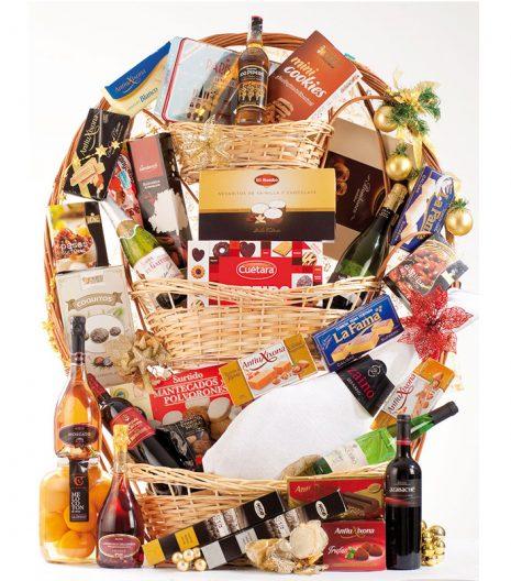 El Cuenta Vinos Murcia Cesta de Navidad 47093