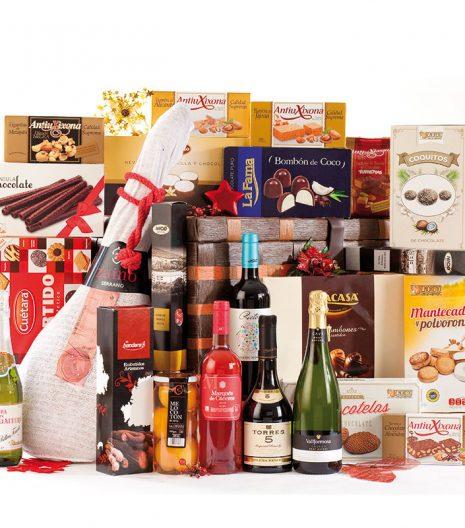 El Cuenta Vinos Murcia Cesta de Navidad 47095