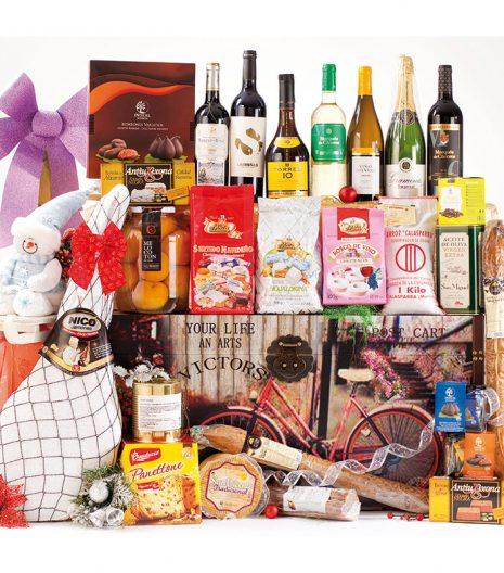 El Cuenta Vinos Murcia Cesta de Navidad- 47096