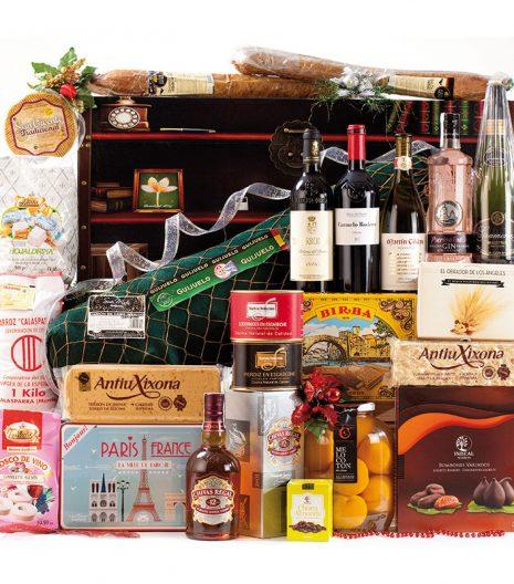 El Cuenta Vinos Murcia Cesta de Navidad- 47097