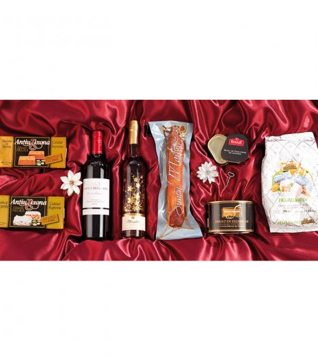 El Cuenta Vinos Murcia Cesta de Navidad- 47107