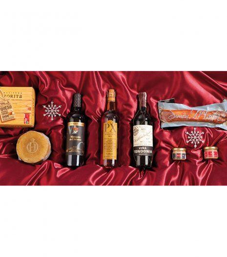 El Cuenta Vinos Murcia Cesta de Navidad- 47109