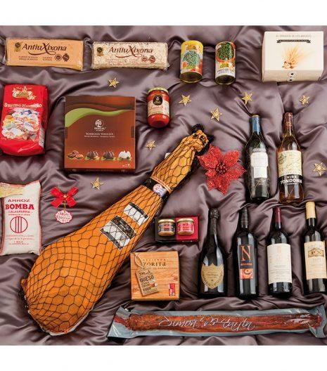 El Cuenta Vinos Murcia Cesta de Navidad- 47112