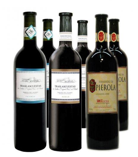 Oferta lote vinos tintos